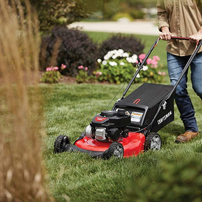 Craftsman-M105-140cc-21-Inch-3-in-1-Gas-Powered-Push-Lawn-Mower