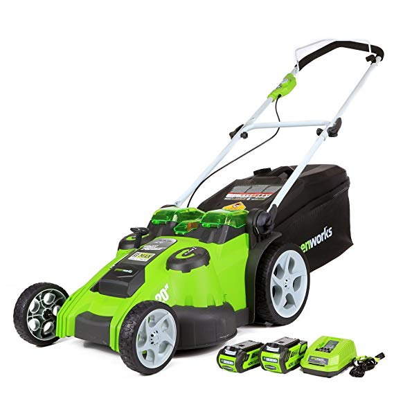 Greenworks Twin Force Lawn Mower reviews