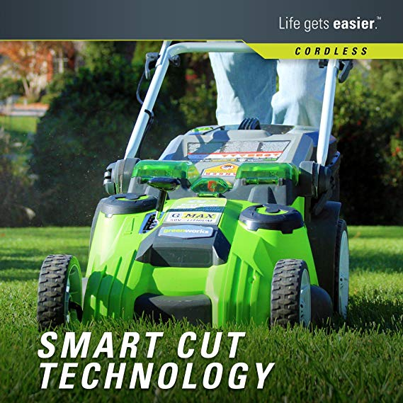 Greenworks-smart-technology-Lawn-Mower