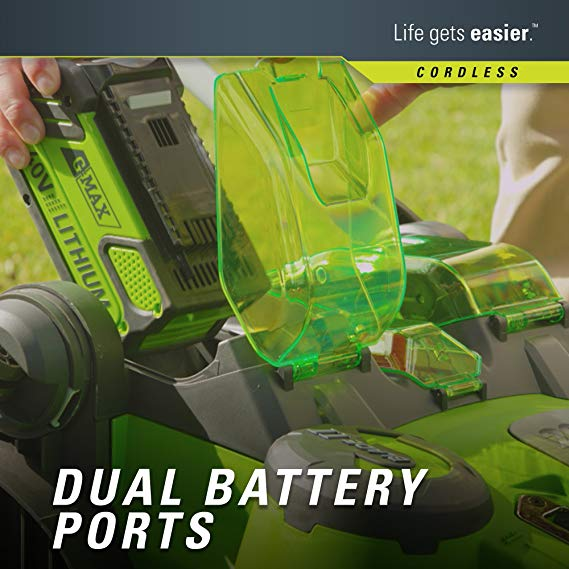 Greenworks-Twin-Force-battery-ports